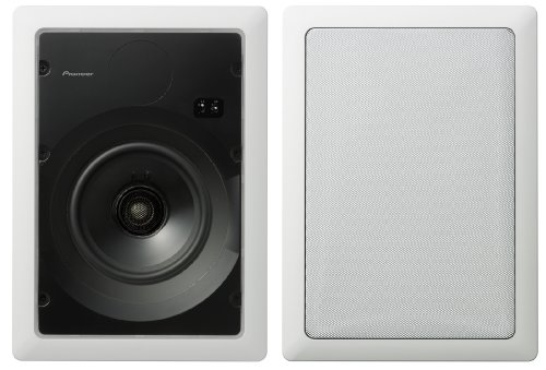 Pioneer S-IW651-LR CST Series 6.5-Inch Rectangular In-Wall Speakers (Pair) (Discontinued by Manufacturer)