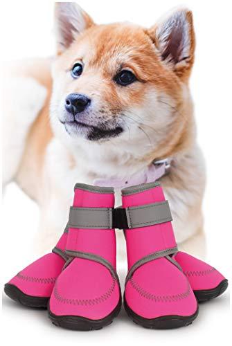 犬 靴 【ドッグトレーニングアドバイザー監修】〔防水! 脱げにくい 犬の靴 〕 犬靴 犬用靴 犬用 ドッグブー...