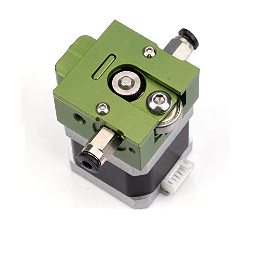 HUANRUOBAIHUO Green DIY for Bulldog All-metal Extruder For 1.75mm Compatible J-head MK8 Extruder Remote Proximity Extruders Components