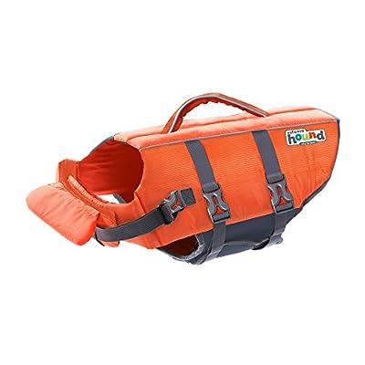 Outward Hound Granby Splash Dog Life Jacket, Orange, X-Small