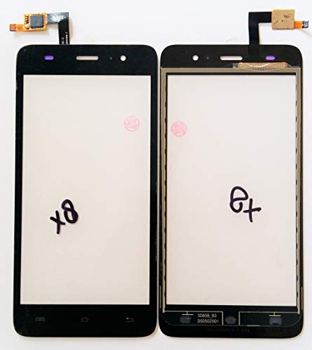 ABshara Touch Screen Digitizer for Lava Iris X8 (Black)