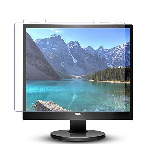 protector pantalla ordenador Pantalla Antideslumbrante Para Monitor Protección Contra Radiación Protector De Pantalla De Bloqueo De Luz Azul Para Monitor De Computadora protector (Size:19in/391×320mm)