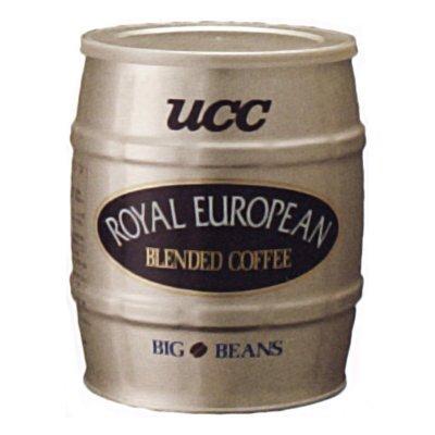 UCC 業務用 コーヒー ロイヤルヨーロピアンブレンド (豆)缶 700g×6個
