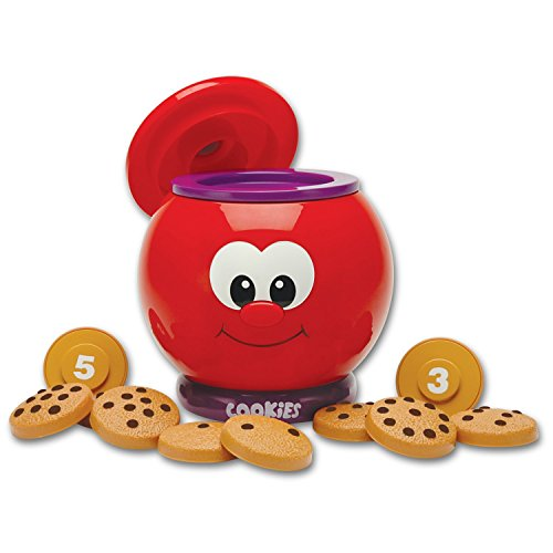 The Learning Journey Learn With Me – Count & Learn Cookie Jar – Counting and...
