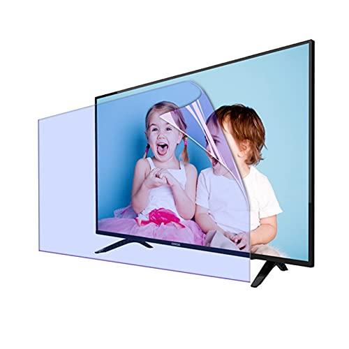 GFSD Protector de Pantalla de TV Película Antideslumbrante, Anti Luz Azul/Protección contra Radiación, Prevenir La Miopía,para Todos Tamaños Televisores Marca