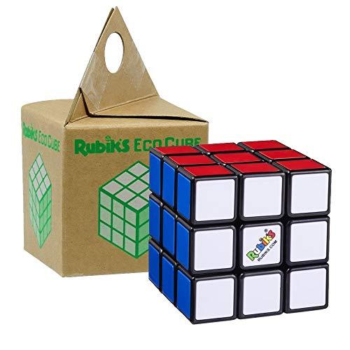 Rubik's Eco Cube - Original Rubiks Cube - 3x3 Zauberwürfel in umweltfreundlicher Verpackung