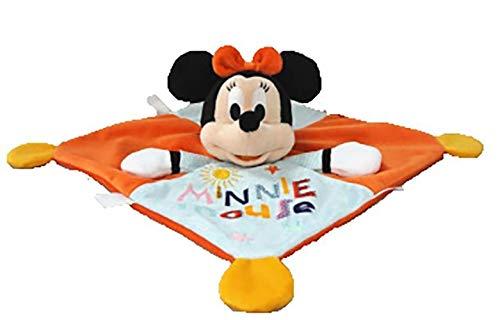 Disney Doudou Minnie Mouse Plat Orange Indigo