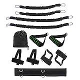 FITYLE 12 unids/Set Bandas de Resistencia de Boxeo Fuerza Brazos piernas Cintura Trasero músculos Entrenamiento Equiment para Rebote Vertical Salto de - 30lbs