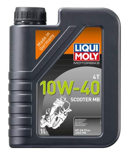 Liqui Moly 20832 motorolie 4T 10W-40 scooter MB,boekje 1 L