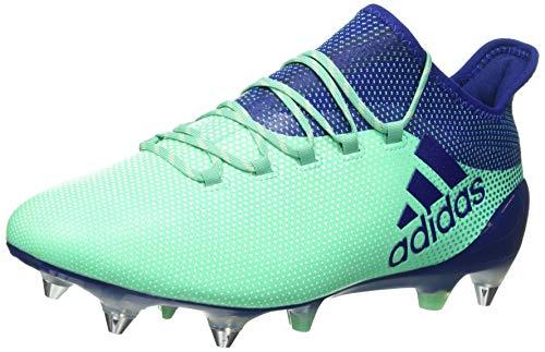 adidas Herren X 17.1 SG Fußballschuhe, Grün (Aergrn/Uniink/Hiregr Aergrn/Uniink/Hiregr), 42 2/3 EU