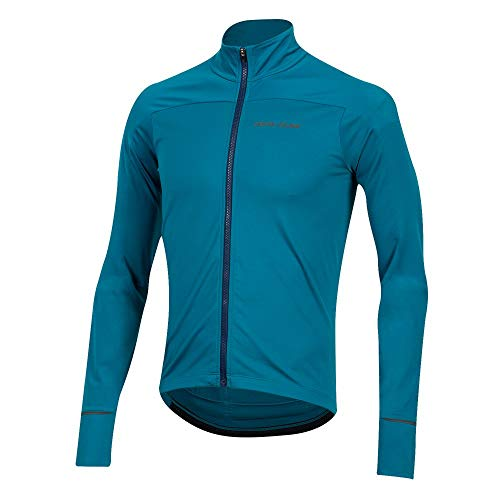 PEARL IZUMI Men's Attack Thermal Cycling Jersey, Teal, X-Large