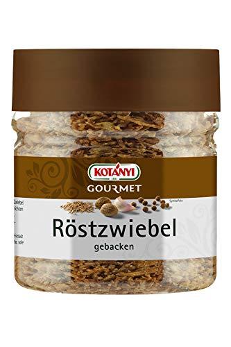 Kotanyi Gourmet Röstzwiebel | in feinem Pflanzenöl gebacken, typisch aromatisch, 6er Pack (6 x 120 g)