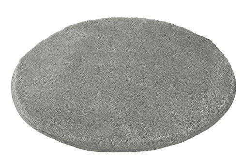 Kleine Wolke (Meusch) 2871189518 Badteppich Mona, 80 cm r&, grau