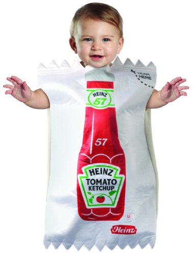 Heintz Ketchup Packet Infant Bunting Costume