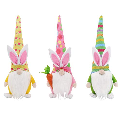 2/3Pcs Dwarf Doll Elf Doll, Gnomes Plush Decorations,Easter Gnomes Gonk Ornamentstoy Gnomes Plush Decorations Table Elf Plush Doll Toys Gifts