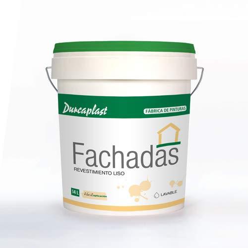 PINTURA FACHADAS Petrea lisa-60 Durcaplast: Revestimiento de fachadas color blanco mate. Extraordinaria resistencia al roce, máxima resistencia a la intemperie y al envejecimiento.(4L)