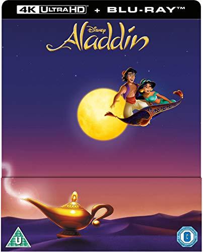 PLTS Aladdin 4k Ultra Hd + Blu-ray Steelbook - BluRay