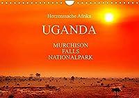 UGANDA - Murchison Falls Nationalpark (Wandkalender 2022 DIN A4 quer): Wunderbare Wildnis (Monatskalender, 14 Seiten )