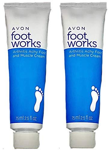 2 Foot Works Healthy Arthritis Achy Foot & Muscle Creams