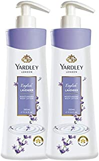 Yardley London English Lavender Hand and Body Lotion, 350ml (Pack of 2)