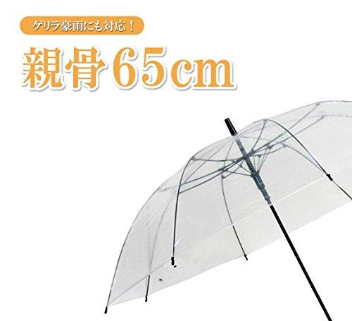 『弘懋 TANPOPO 65cmグラスファイバービニール傘滑り止め(ジャンプ)黒 60317』の5枚目の画像
