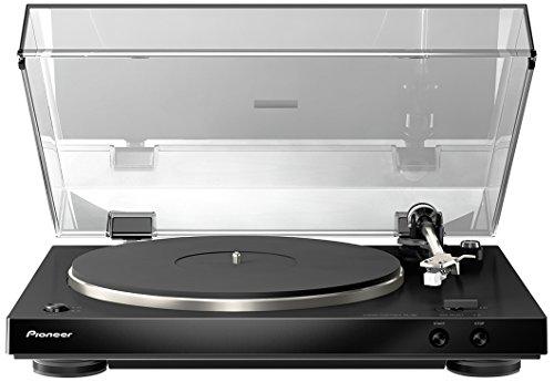 Pioneer PL-30-K Giradischi Stereo, Telaio Doppio Strato, Equalizzatore Phono Integrato, Nero/Antracite