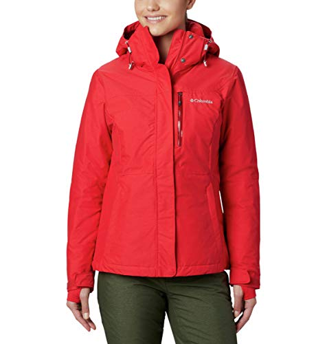 Columbia Damen Alpine Action OH Ski-Jacke, Rot (Red Lily), M