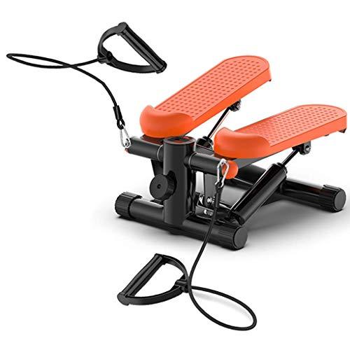 XHCP Stepper, Fitnesspedal Fitnessheim Mini Step Machine, Cubii Under Desk Ellipsentrainer, Treppenstepper Aerobic Twist Trainingsgerät mit LCD-Display, für Home Office Fitness Workout Übung