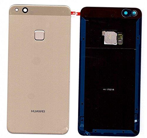 Tapa de la batería, parte posterior, cubierta de la batería para Huawei P10 LITE ORO /Sensor/ lámina adhesiva/