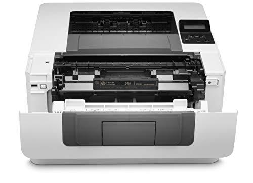 HP LaserJet Pro M404dw W1A56A, Impresora A4 Monofunción Monocromo, Impresión a Doble Cara Automática, Wi-Fi, Ethernet, USB 2.0, HP Smart App, Pantalla Gráfica LCD, Blanca