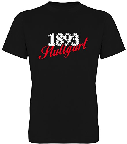 G-graphics Herren T-Shirt 1893 Stuttgart 078.237 (XL)