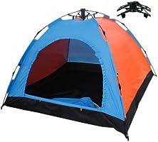 3 Kişilik Otomatik Kurulum Kamp Outdoor Festival Çadırı