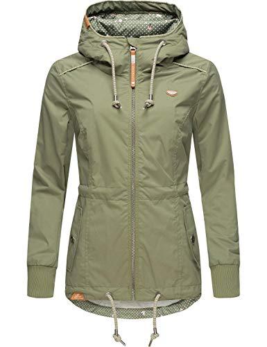 Ragwear Damen Übergangsjacke Outdoor Kapuzenjacke Danka Olive20 Gr. XL