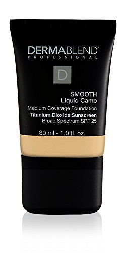 Dermablend Smooth Liquid Foundation with SPF 25, 0C Linen, 1 Fl. Oz.