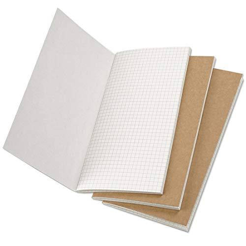 MALAT Handmade Leather Notebook Refill Inserts Replace Inner Core Planners Standard Passport A5 Size Traveler Diary Journals