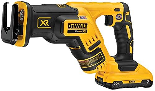 DEWALT DCS367L1 20V MAX XR Brushless Cordless Compact Reciprocating Saw Kit (3.0 AH)
