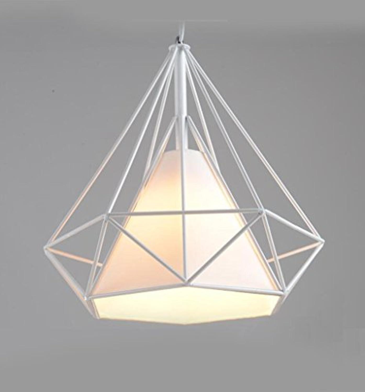 Aoligei Iron Kronleuchter LED kreative Schlafzimmer einzigen Kopf modernen einfachen Kronleuchter Twisted Kronleuchter 19  16cm