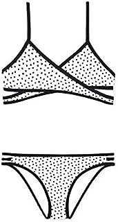 Bikini Mayoral Cruzado Vivos Negro para Niña
