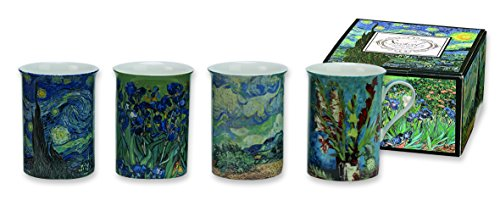 Heath McCabe Trent Country Kitchen Multicoloured Gift Box of 4 Set of 4