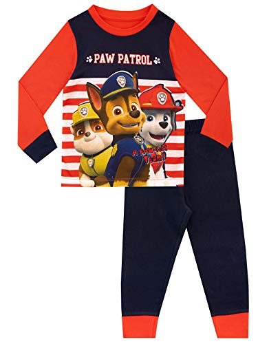 Paw Patrol - Ensemble De Pyjamas - La Pat' Patrouille - Garçon - Multicolore - 3-4 Ans