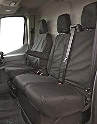 CAR ACCESSORY: Everyday messes, spilled beverages and stains can spoil your car seats but with Streetwize seat covers, you can protect the upholstery and make it look brand new. These custom-fit seat protectors are specially crafted for VX Vivaro, Fi...