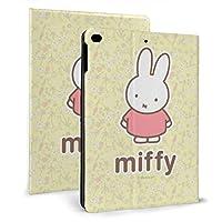 Miffy ミッフィー Ipad Mini 5 ケース Ipad Air Ipad Mini 7.9インチ ケース 収納可能 スタンド機能 2019新型 9.7インチ 軽量 薄型 シンプル 二つ折タイプ 全面保護型 傷つけ防止 手帳型 ケース Pu 便利なペンホルダー付き