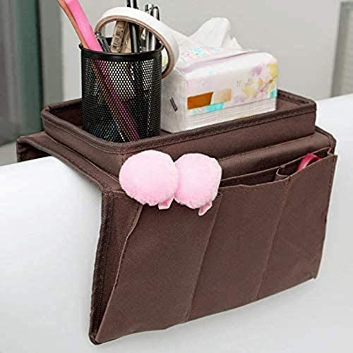 JINTN Sofa Caddy Organizer Bed Bedside Hanging Storage Bags Stuff Holders Creative Household product image