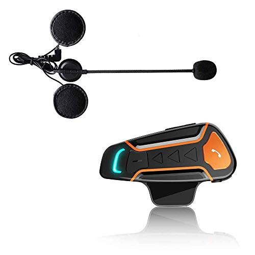 For Sale! SPRIS Motorcycle Bluetooth Intercom,1000 M Bluetooth Walkie-Talkie Motorcycle Helmet Bluet...