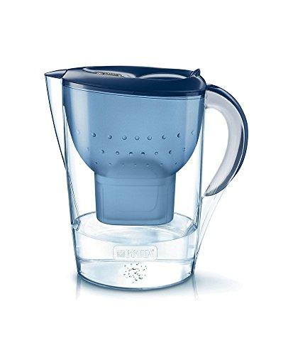 BRITA, Carafe Filtrante, Marella, 3.5L, 1 Cartouche Filtrante MAXTRA+ incluse - Bleu