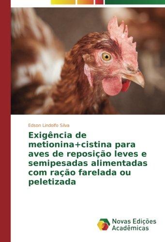 Silva, E: Exigência de metionina+cistina para aves de reposi