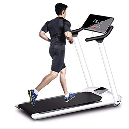 YaGFeng Tragbares Elektrisches Flat Walker Faltbares Ultradünnes Ferngesteuertes Heim-Desktop-Laufband Für Jogging- Und Büro-Laufband