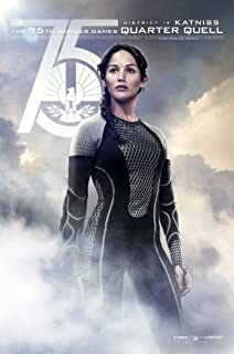 World Mall Group The Hunger Games Catching Fire (2013) 24X36 Movies Poster (Thick) - Jennifer Lawrence, Josh Hutcherson, Liam Hemsworth