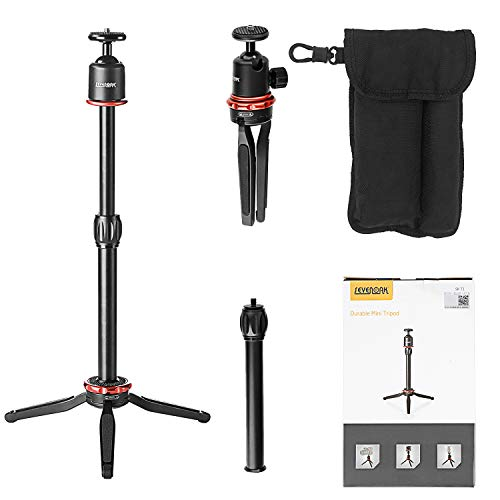 Tripod for Smartphone Camera GoPro, Sevenoak Folding Aluminum Stand with 360° Panorama Ball & Extendable Grip for iPhone 8 x 7 Action Camera GoPro Canon Nikon Camera YouTube Vlog Video Livestream