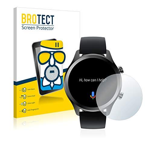 BROTECT Entspiegelungs-Panzerglasfolie kompatibel mit Mobvoi Ticwatch C2 Plus - Anti-Reflex Panzerglas Schutz-Folie Matt